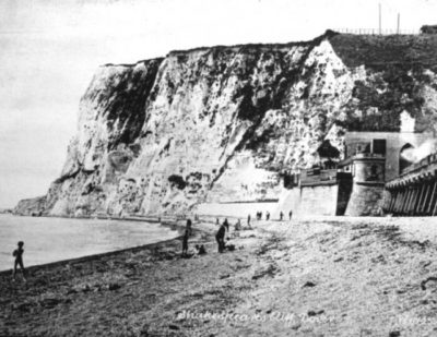 UK: Sea Wall Repairs Uncover Dover Railway History