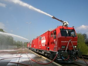 Fire Fighting Locomotives