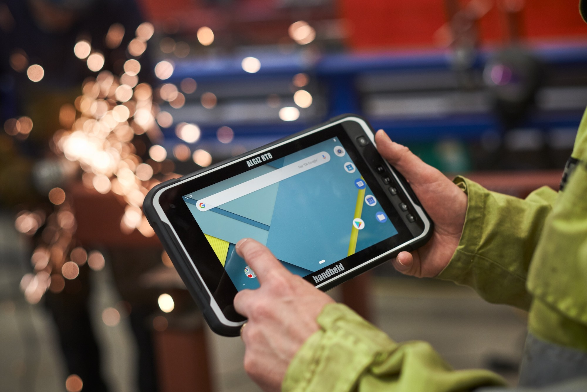 The Algiz RT8 ultra-rugged tablet for tough field work