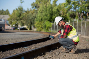 Rugged Handhelds for Track Maintenance