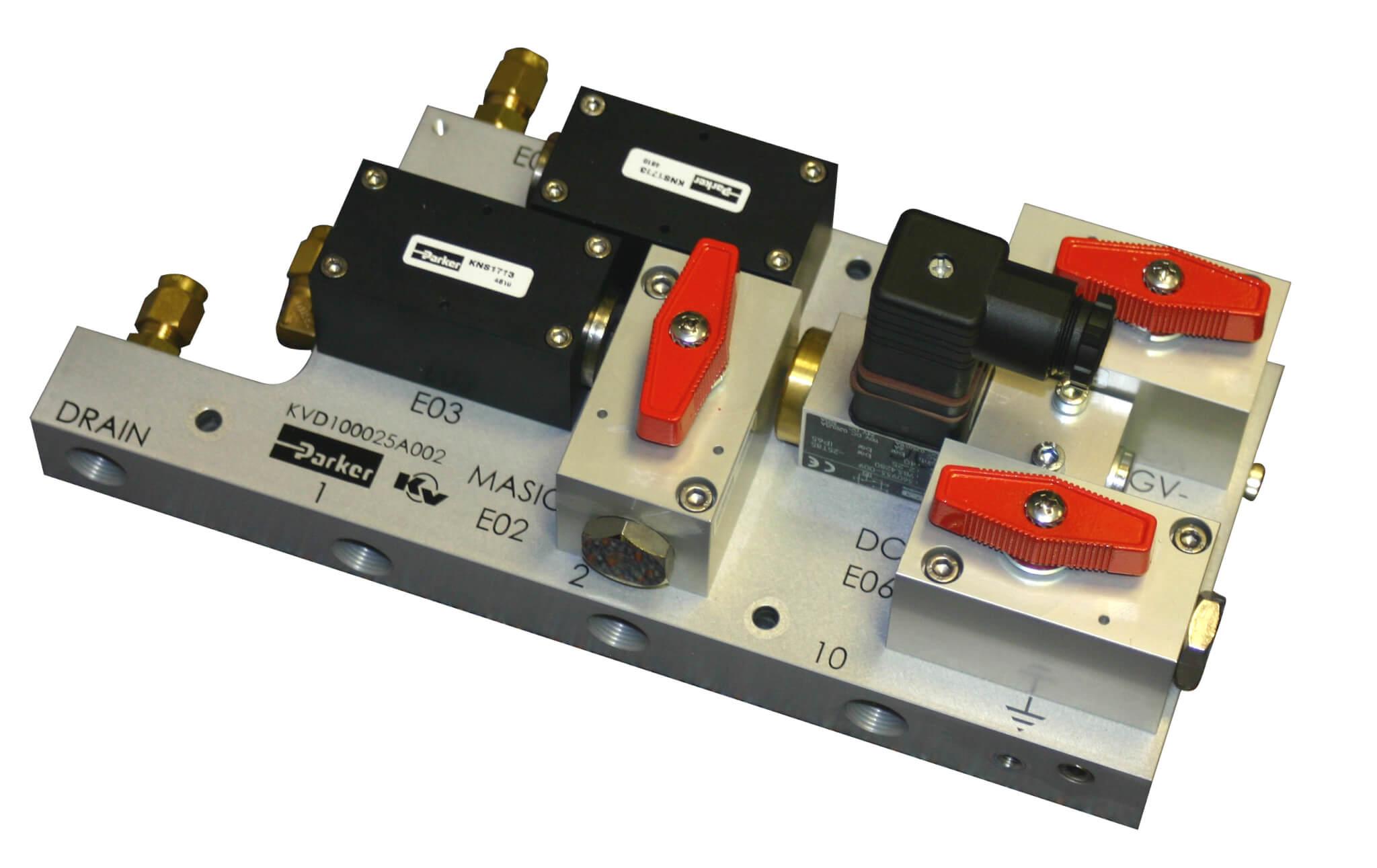 Modular Control System including valve for pantograph controls