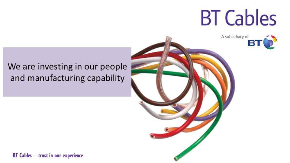 A 500-Day Event Celebrated the Rapid Growth of BT Cables
