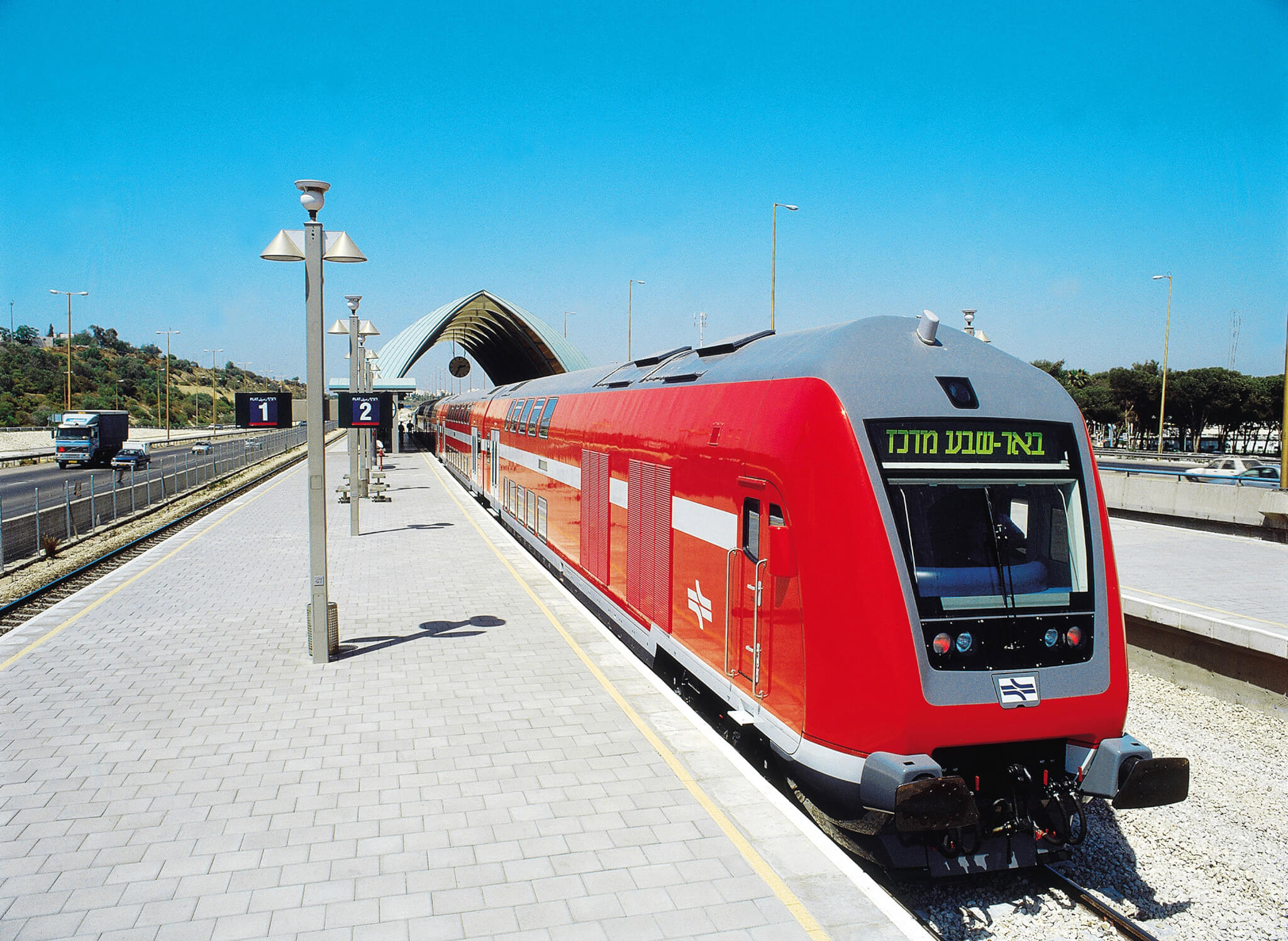 Electrification for Israel's Railways