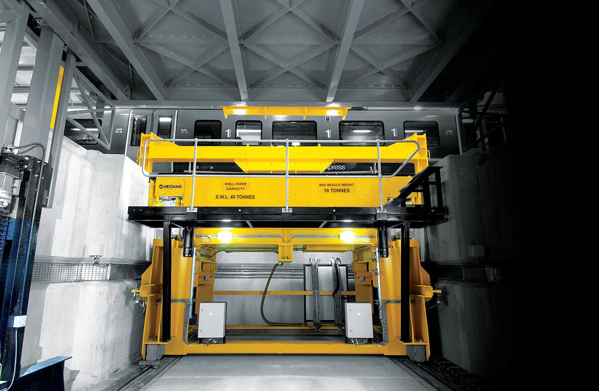 Bogie Drop Siemens Ardwick