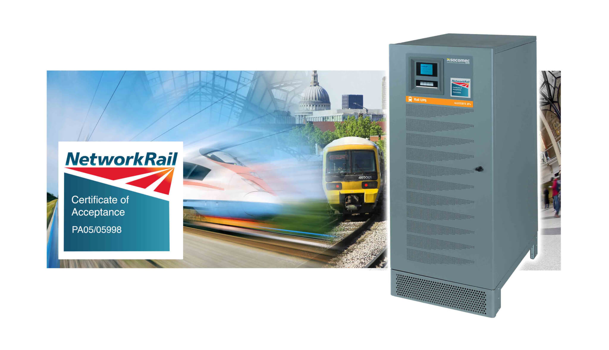 PADS Approved Supplier for Network Rail Product