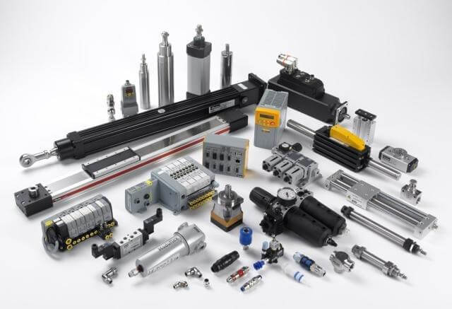 Pneumatic and Electromechanical Components