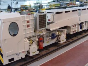 Clayton Haulage Locomotive
