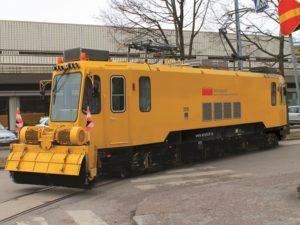 Rail Grinding Vehicles