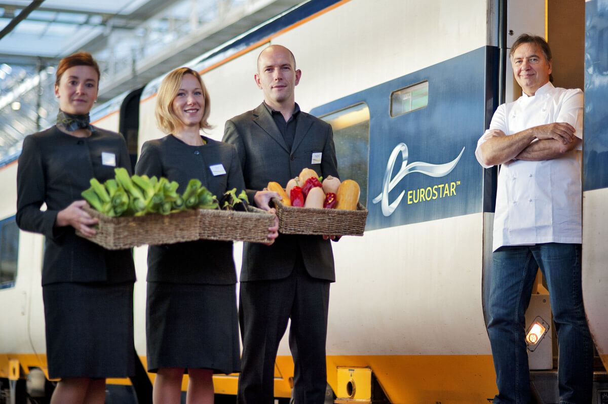 Eurostar Appoint Michelin Starred Chef Raymond Blanc as Culinary Director