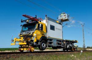 SRS Road-Rail Vehicle