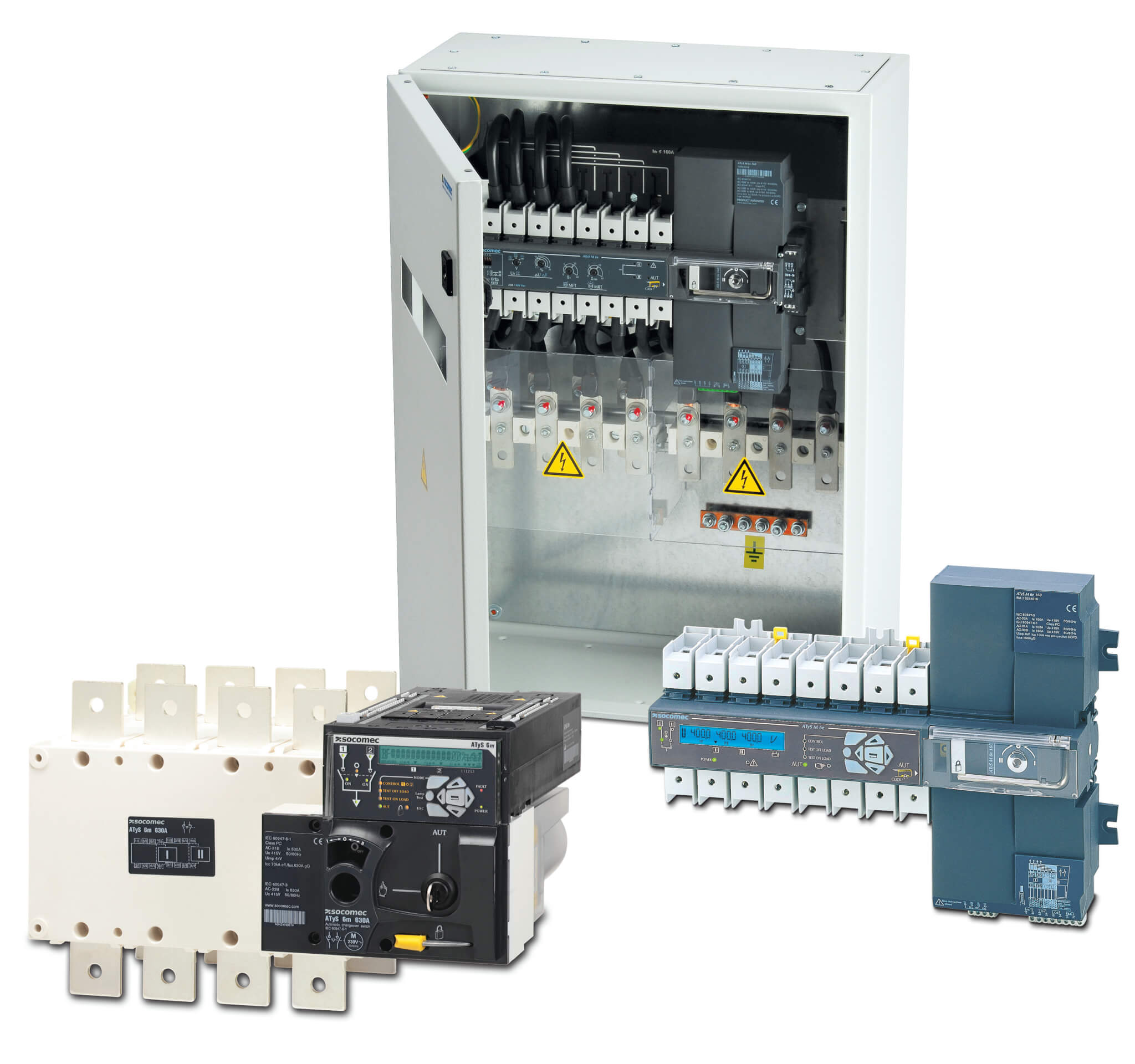 Automatic Transfer Switches  Socomec