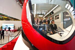 Saudi Arabia: Riyadh Metro Vehicles Unveiled