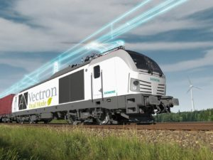 Vectron Dual Mode Locomotive