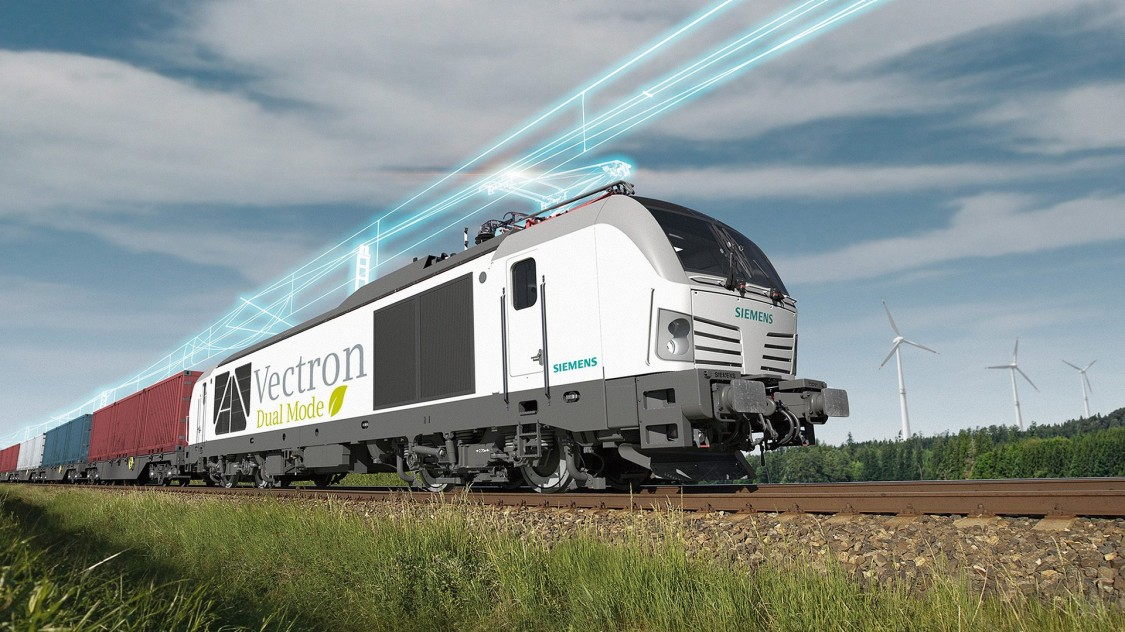 Vectron Dual Mode Locomotive © Siemens
