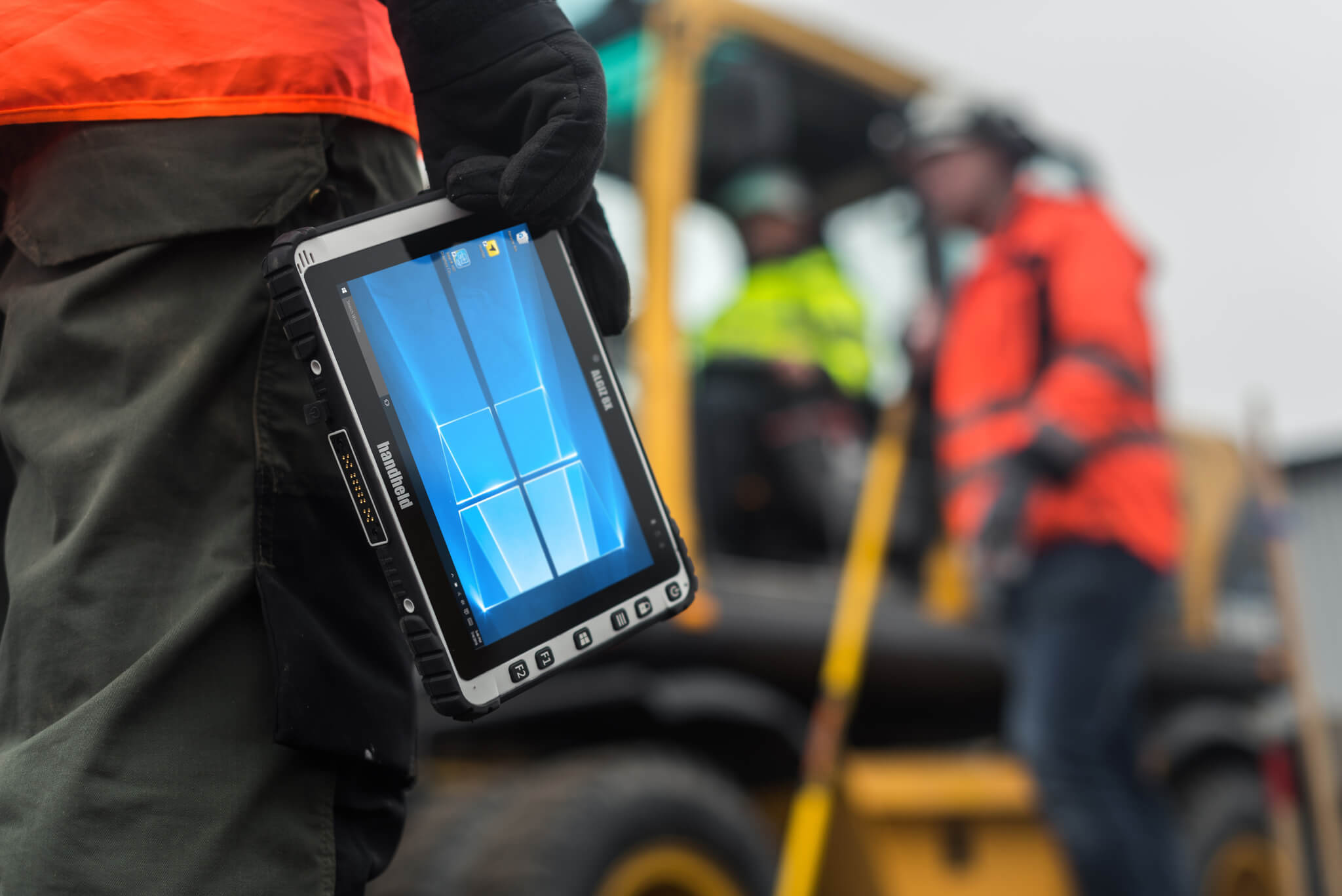 The Algiz 8X Rugged Tablet for Field Work and Maintenance