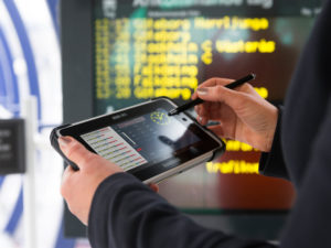 Ticketing with rugged tablets