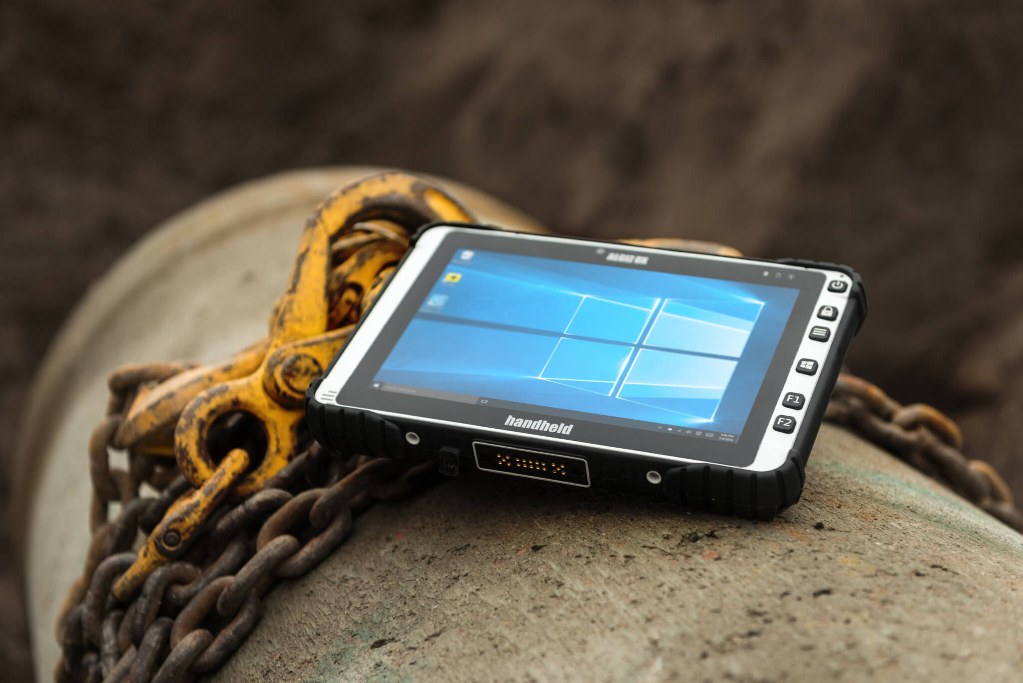 The Handheld Algiz 8X Rugged Tablet Built for Field Work