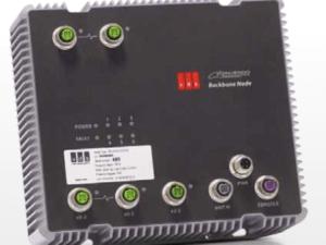 Gigabit Ethernet Train Backbone Node