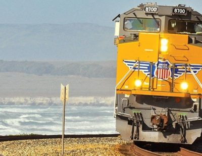 $121.6m Union Pacific Investment into California Network