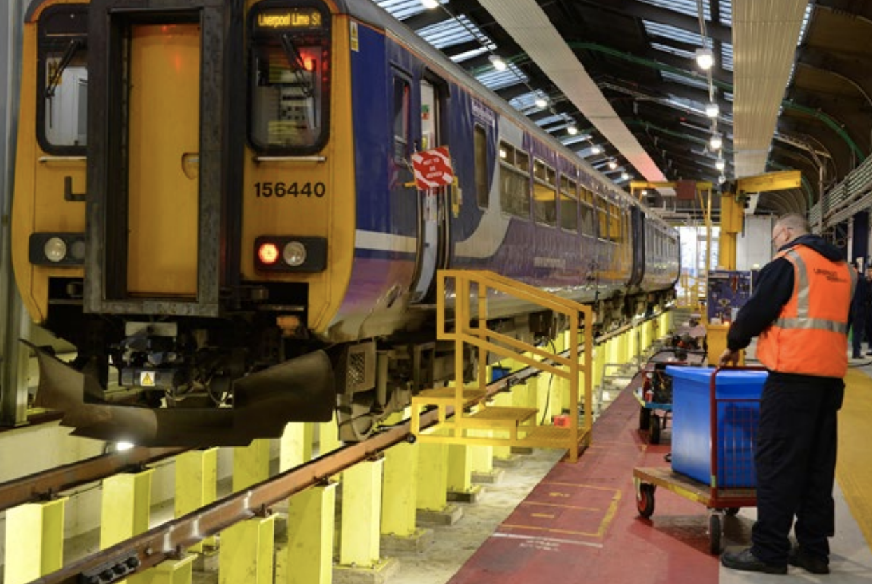 Depot Stores Management for Northern Rail.
