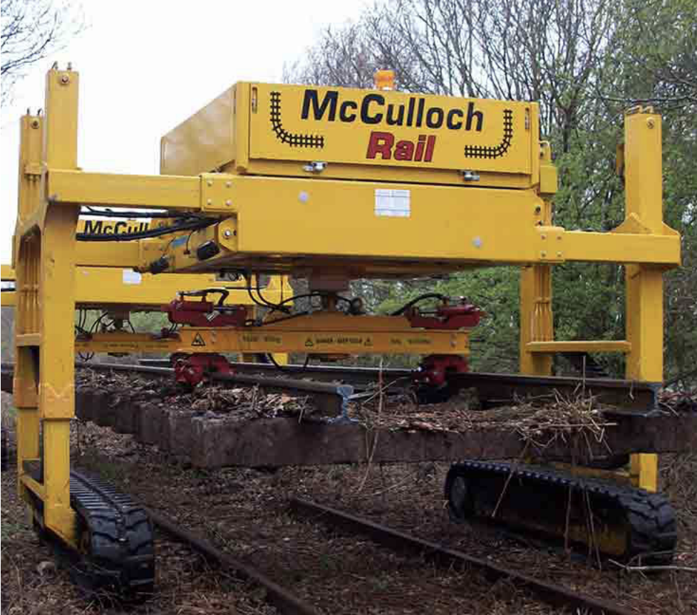 McCulloch Rail Solutions from Unipart Rail.