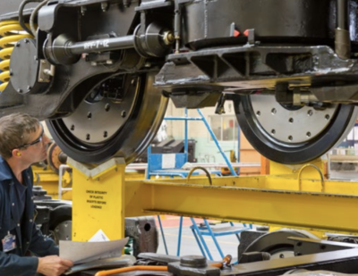 Unipart Rail Spares Support for Bogie Overhaul