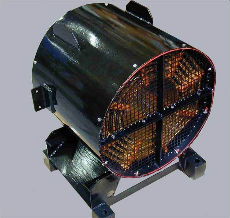 Air-core DC Line filter inductor