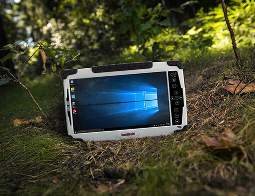 Sweden: Handheld ALGIZ 10X Rugged Tablet Now Runs Windows 10