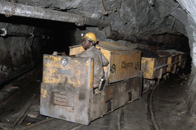 Ashanti Mining Locomotive
