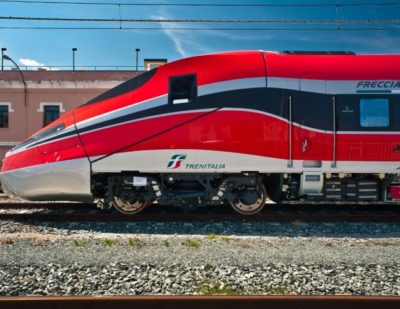 High Speed Frecciarossa 1000 Train Makes First Journey in Italy