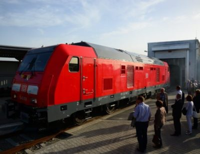 Bombardier Delivers TRAXX Diesel Multi-Engine Locomotives to Germany