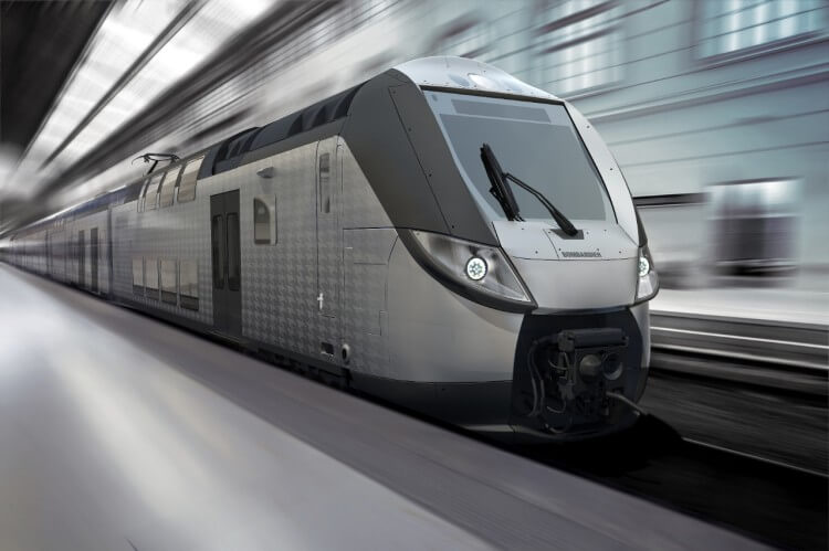 Bombardier Unveil its New Premium Intercity Train
