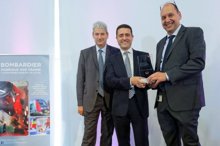 Bombardier Wins the 2014 SNCF Trophy for Best Manufacturer and Site