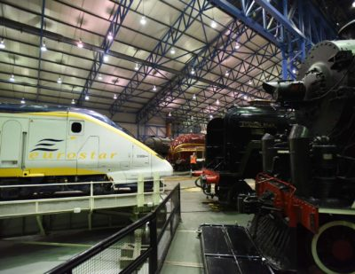 Eurostars First Generation Trains Become Museum Pieces