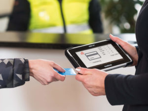 eTicketing Handheld Computers
