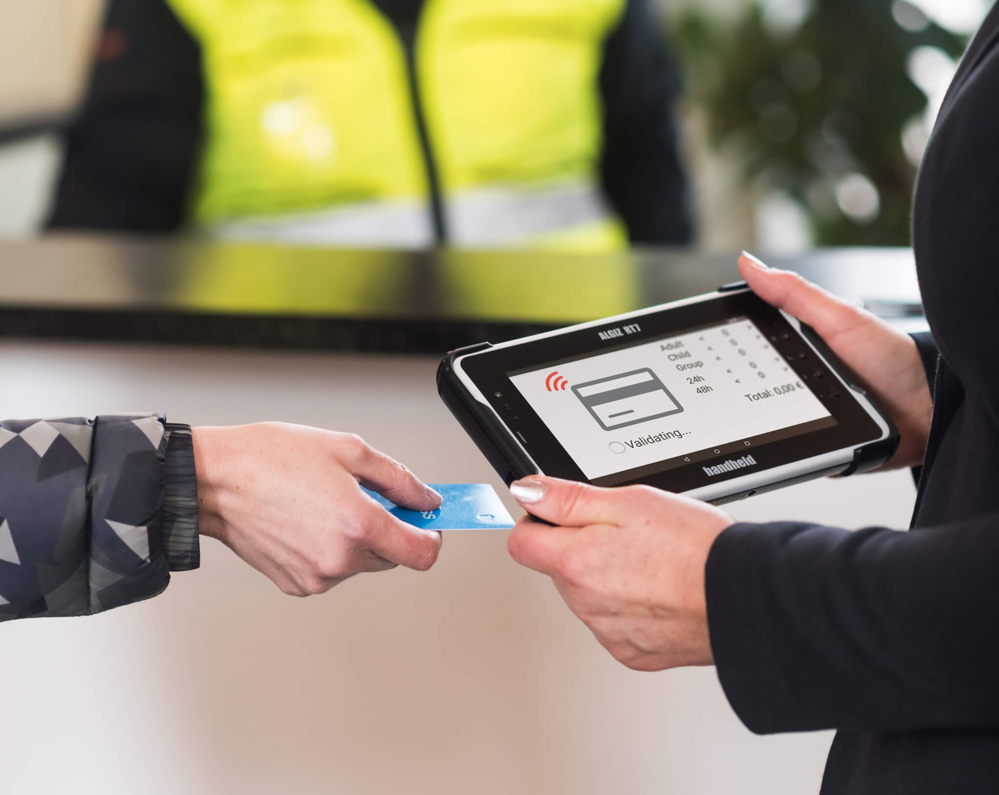 eTicketing and Smartcard Verifications with the Algiz RT7