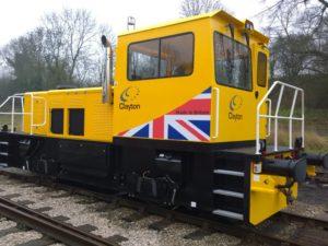 Clayton Locomotive
