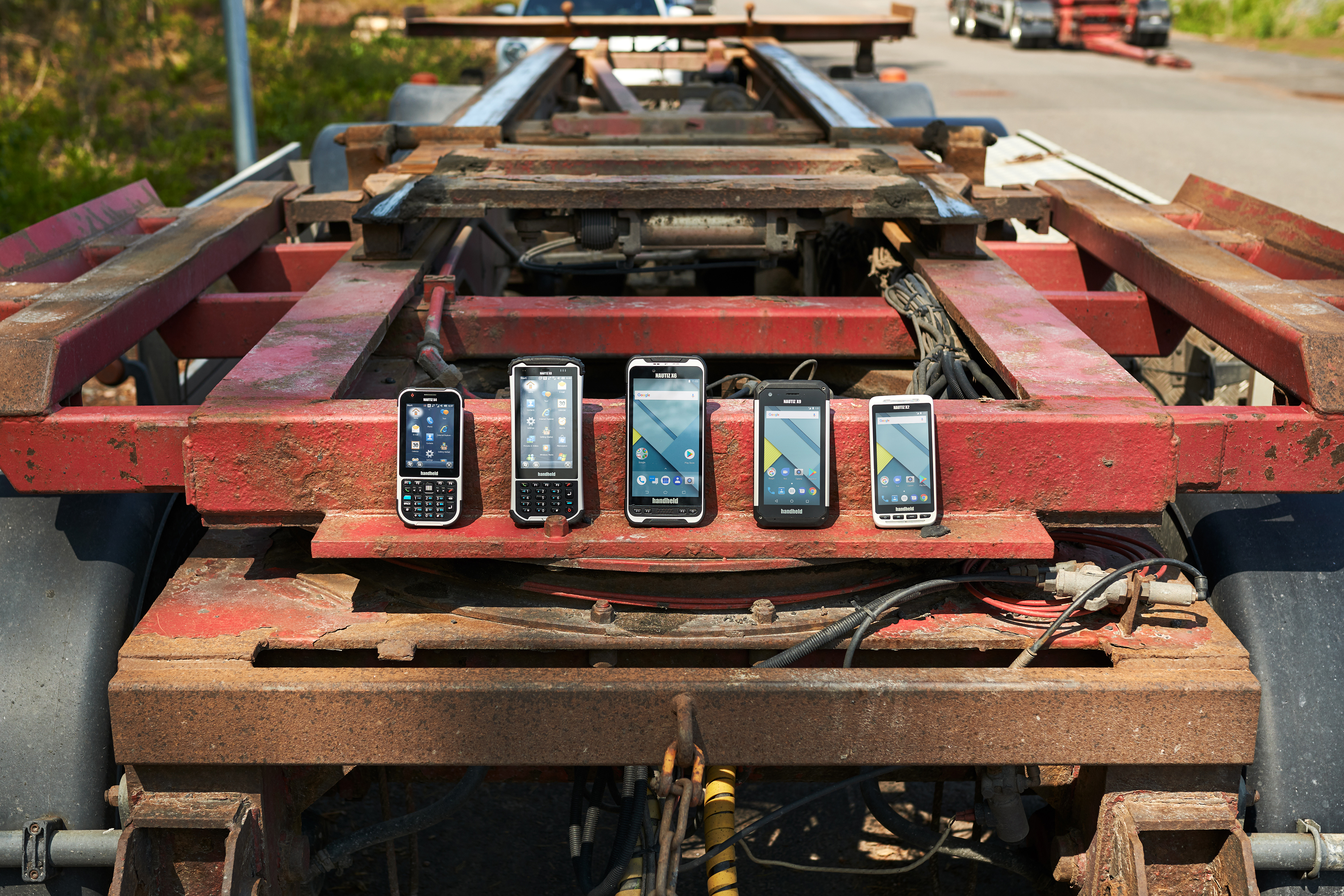Nautiz rugged PDA product line-up