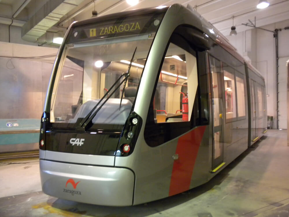 CAF – Zaragoza Light Subway Train