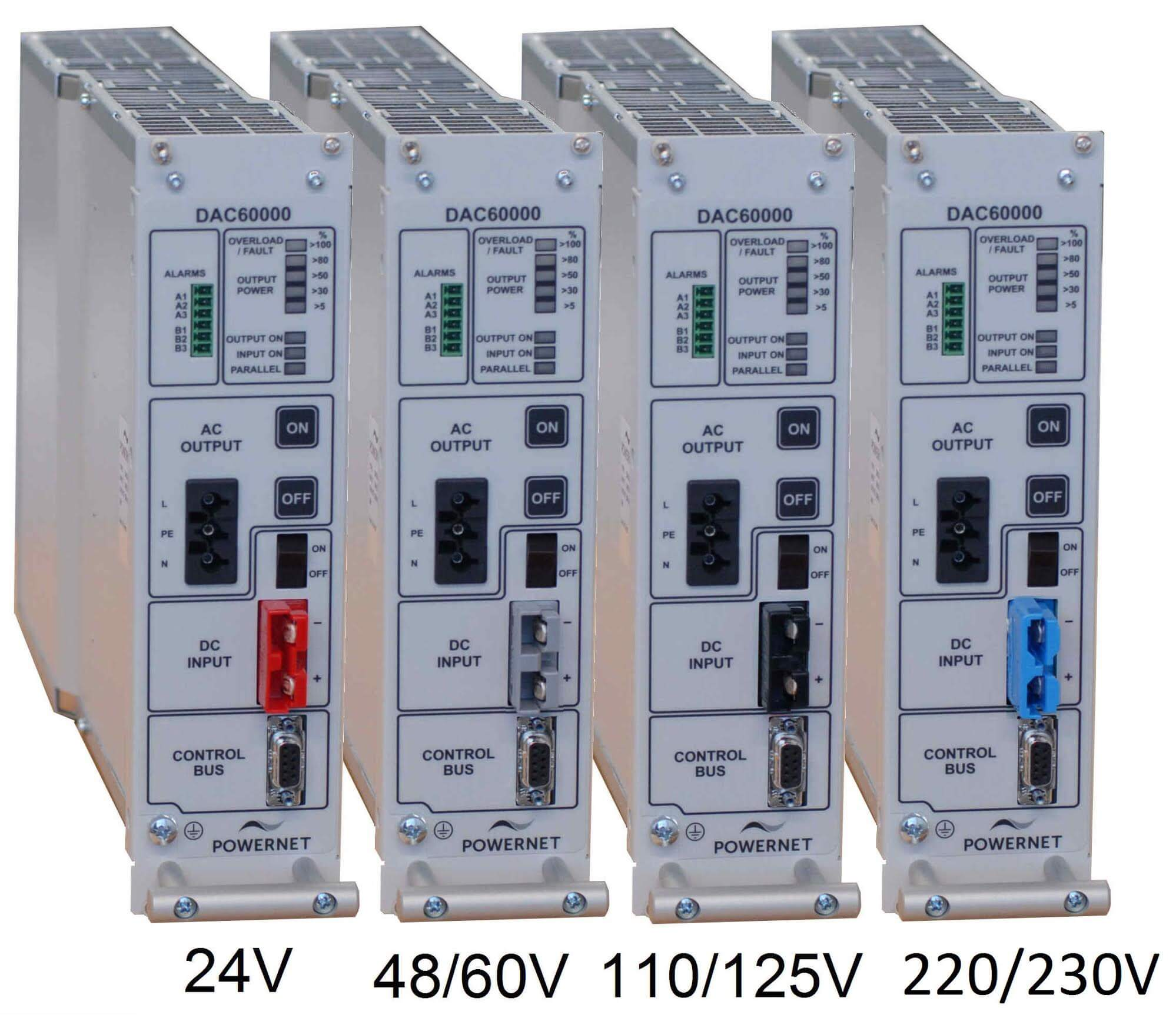 Powernet DAC60000 Modular Inverter Systems