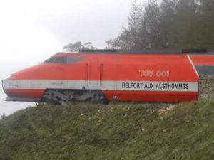 TGV 001 Restoration by Alstom