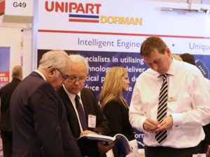 Unipart stand at Infrarail 2015