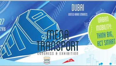 MENA Transport Congress and Exhibition 2016 Comes to Dubai
