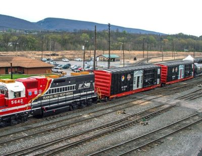 Norfolk Southern Launch Safety Train and Website