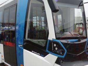 Stadler rail tram