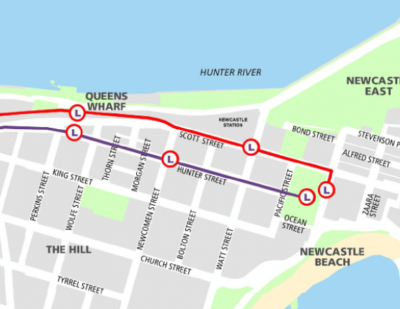 Australia: Newcastle LRT Shortlist Announced