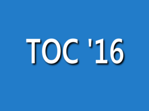Train Operator Competition '16 (TOC'16) Announced