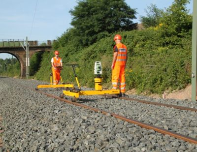 Ballast Tamping Survey Equipment