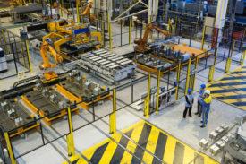 Tata Steel facility in Scunthorpe