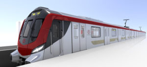 Alstom and Lucknow Metropolis Metro Car Revealed